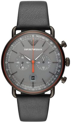 Emporio Armani - Men Wrist Watch on YOOX. The best online selection of Wrist Watches Emporio Armani. Best Watches For Men, Big Watches, Vintage Watches For Men, Luxury Watches, Cool Watches, Cheap Watches, Casual Watches, Male Watches, Affordable Watches