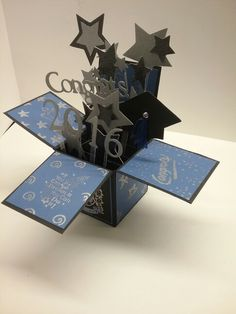 Graduation card in a box