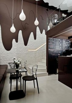 Chocolate-Bar-by-Bro-Kat The small café, located in a market square in Opole, Poland (o pinned with Pinvolve