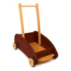 Toddler Push Wagon (Swedish Red) also approved by john - different color option
