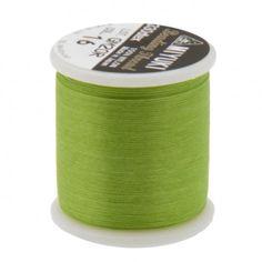 Fil nylon Miyuki 0,25mm vert (x50m)  Référence 8413-16 Bobine de 50 mètres de fil nylon monofilament, de la marque Miyuki, couleur vert (code couleur 16) épaisseur 0,25mm (size B) Très résistant, ce fil Miyuki de qualité convient parfaitement pour tisser des perle