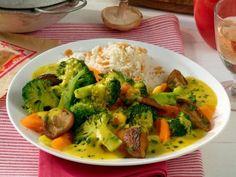 Gemüsecurry auf Basmatireis - Rezepte - bildderfrau.de