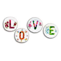 Lou Rota | Decorative Wall Plates | Love Plates | Contemporary Art. Design Gifts. Ideas. | Everything Begins