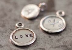 Make your own custom charms with a metal-stamping set and words or symbols that hold special meaning for you. Alix talks about which metals to use for practice, and once you're comfortable stamping, she'll teach you a shortcut to give your charms a lived-in patina.
