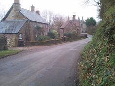 Village street - Goodrich, Herefordshire