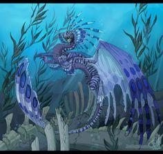 """Tide Caller"" made by Neon Dragon Art"