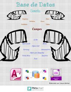 Estructura de una base de datos y campos que la conforman #RDEMX
