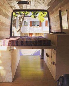 Campervan Bed Design Ideas 69