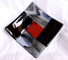Just Me Geralyn And Glass - Geralyn Thelen - Fused Glass Artist