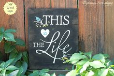Learn how you can make your very own DIY wood sign with this free printable!