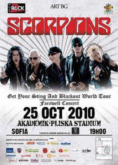 Scorpions Live in Sofia 25/10/2010