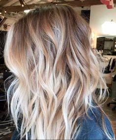 50 spektakuläre blonde Haare Ideen
