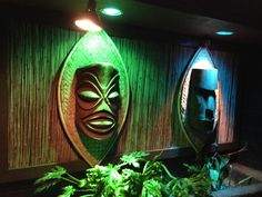 Tiki bar decor at home -- Readers upload photos of their tiki bar decor at home. From vintage Witco to atomic tiki style, there are some great designs here.