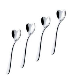 Il Caffe Alessi Heart Spoon Set