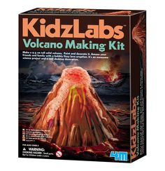 2c17413f3 4M Kidz Labs Volcano Making Kit - 5 - 7 Years - Age | Toyworld Volcano