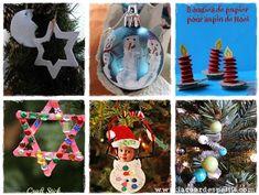 40 bricolages de Noël pour patienter  La cour des petits