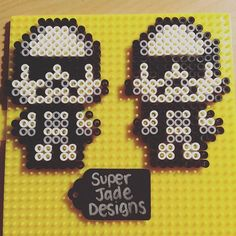 Stormtroopers - Star Wars perler beads by superjadedesigns
