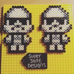 Stormtroopers - Star Wars perler beads by superjadedesigns