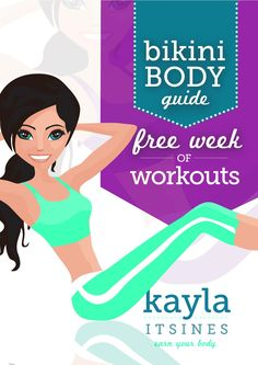 Kayla's free week of workouts