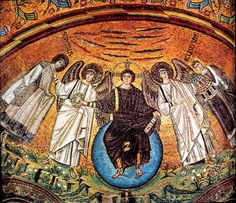 mosaic angel art