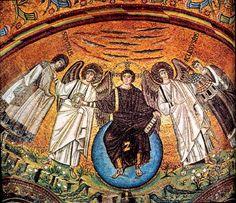 mosaic angel art