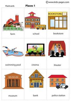 Learn English Vocabulary: Places in the City 15