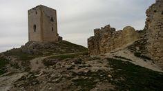 Vistas desde la murallas en ruinas
