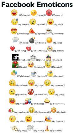 Liste - Smiley Bedeutung