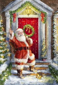 Иллюстрации от Marcello Corti, Санта-Клаус