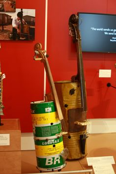 instruments, upcycle, recycled orchestra