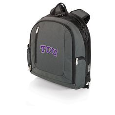 Navigator Backpack Cooler and Portable Seat - TCU Horned Frogs
