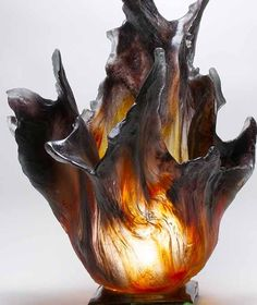 ronbeckdesigns:    Glass | Amanda Brisbane                                                                                                                                                 (via Pinterest: Discover and save creative ideas)
