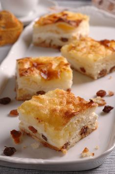 Dessert Bars, Food And Drink, Sweets, Baking, Pastries, Recipes, Dress, Food And Drinks, Sweet Pastries