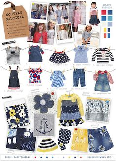 Emily Kiddy: Nouveau Nautical - Spring/Summer 2013 - Girls Trend