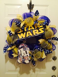 Star Wars wreath! So much fun to make.