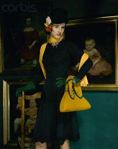 "John Rawlings, Portrait of Barbara ""Babe"" Paley, 1941"