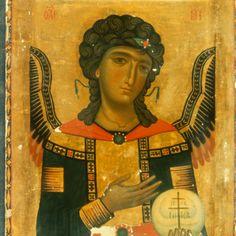 Saint Michael · The Sinai Icon Collection Byzantine Icons, Byzantine Art, Icon Collection, Art Icon, Orthodox Icons, St Michael, Sacred Art, Illuminated Manuscript, Religious Art