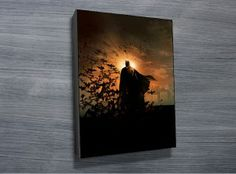 Batman Begins Canvas Print from $26.00. The poster of the movie Batman Begins is depicted in this great pop art canvas print. As with all art on this site, we offer these prints as stretched canvas prints, framed print, rolled or paper print or wall stickers / decals. http://www.canvasprintsaustralia.net.au/  #Stretchedcanvasprints #Canvasphotos