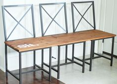 IKEA Hackers: Granas Chairs turned in to a Bench
