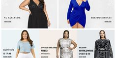 Curve Girl Latest Collection | Get 60% Off | Free Shipping | Sizes XL-10XL Girls Plus Size Dresses, Plus Size Outfits, Trendy Outfits, Size Zero, Girl With Curves, Party Tops, Curve Girl, Clothing Websites, Trendy Tops