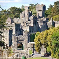 Ashford Castle Hotel - Co. Mayo - Ireland from: Irish Castles Beautiful Castles, Beautiful Buildings, Beautiful Places, Chateau Medieval, Medieval Castle, Ashford Castle Hotel, Ashford Castle Ireland, Galway Ireland, Places To Travel