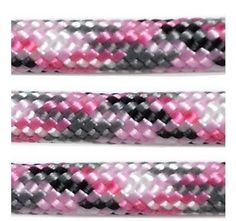 Ultimate Arms Gear Sneaky Pink Camo 100 Feet Military GI Nylon Type III Specification 550 lbs 7 Strand Heavy Duty Utility Braided Paracord Survival Parachute Tactical Para Cord Rope Made in the USA  Design Pattern Camouflage  Pink Grey Gray Black  White -- Click image to review more details.Note:It is affiliate link to Amazon.