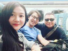 好巧 在高鐵上�� 遇到帥哥傳治老師! 還坐在前後面  實在太幸運了������ 以前我沒有機會給老師教到 不過老師到現在都很關心我們 真的很開心��  希望老師也旅途很愉快喔��  #teacher #ntcu #taichung #taipei #linda #sky #travel #高鐵 http://tipsrazzi.com/ipost/1524483911513388548/?code=BUoDgpbjbYE