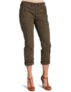 Calvin Klein Jeans Women`s Petite Zip Crop Pant www.websitemarketingstrategies.org