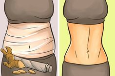 Diy Ginger Wraps, And Burn Belly Fat Overnight! Combattre La Cellulite, Ginger Wraps, Weight Loss Wraps, Body Hacks, Body Wraps, Burn Belly Fat, Losing 10 Pounds, Regular Exercise, Health And Beauty Tips