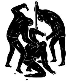 Cleon Peterson / Vengeance / Painting / 2015