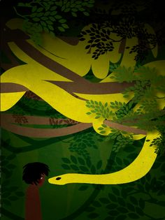 Amy Martin Illustration - The Jungle Book