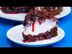 PERFEKTNÍ dezert! Nejjednodušší dort s kakaovým korpusem a třešněmi!| Chutný TV - YouTube