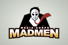 Media Corps Madmen logo design by jaybhoi