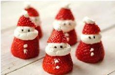 Deliciosos Santas de Fresa y Cremas | Ideas para Decoracion